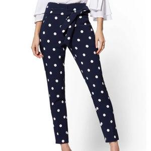 New York & Company Women's Blue Madie Pant - Navy